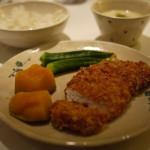 學做菜:日式炸豬排 mama de maison