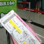 韓國行~ Hello Kitty 班機來回飛機餐 BR160 BR159