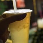 宜蘭老店古早味。檸檬愛玉~濃濃檸檬味,滑Q愛玉配
