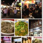宜蘭羅東夜市小吃:當歸羊肉湯、龍鳳腿、包心粉圓、碳烤蔥肉串
