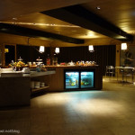 飯店內的早餐。HOTEL QUOTE HQ Lounge