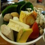 [台北東區] 筷鍋涮涮鍋,水果蔬菜自然味湯頭