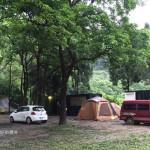 露營。南庄好地方 – 臨時改場地的一露