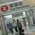 [香港] 前往迪士尼樂園的列車