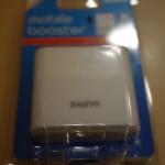 我的 iPhone 隨時隨地可以充電,SANYO 充電電池組