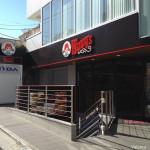 日本表參道上的溫蒂漢堡
