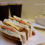 通化街美食:肉蛋碳烤三明治