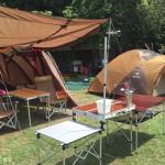 露營。三峽山水畔